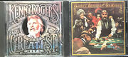Kenny Rogers - Greatest Hits/ The Gambler Hard To Find 2 Cd Lot