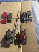 1967-1972 Chev Pickup Truck Door Latches L And R With Rods And Pillar Latches
