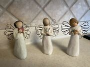 3 Willow Tree Angels Angel Of The Heart Healing And Remembrance