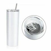 12pcs Sublimation Blank 20oz Skinny Tumbler Double Wall Insulated