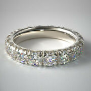 1.50 Ct Real Diamond Wedding Band For Sale Solid 950 Platinum Bands Size 5 6 7 8