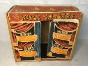 Rare Vintage 1947 Excel Jolly Theatre 16mm Toy Projector Box Only 3 Stooges
