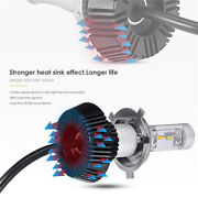 Fanless Brightest Dual Full Led Light Conversion H4 Bulb For Triumph Motorcycle