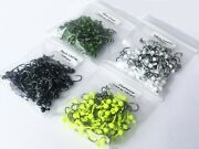 Lures Pro 100 Pcs 1/64 Oz Lead Jighead Fishing Hooks Trout No Collar Crappie