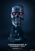 Sideshow 1/1 Purearts Terminator 2 T-800 Endoskeleton Statue Bust Art Mask Prop