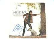 Neil Young Autographed Signed Everybody This Is Nowhere Vinyl Jsa Z08562