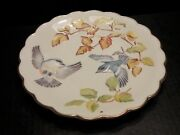 Royal Worcester The Birds Of Dorothy Doughty Plate Cerulean Warblers And Beech
