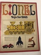 Vintage 1965 Lionel Toy Trains And Ho Racing Sets Catalog 39 Pgs New Holland Pa