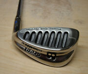 Nos Tiger Shark 1990's Great White Irons 3-pw Steel Shaft Rh-l Rmade In Usa