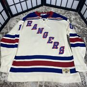 Stall And Dean New York Rangers Nhl Hockey Jersey Acrylic Wool Sweater Xl Vintage