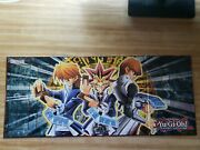 2 Yugioh Playmats Epic Dawn And Egyptian Gods