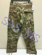 Multicam Flame Resistant Army Combat Pants W/crye Precision Knee Pad Cut Sr Nwt
