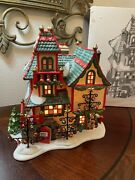 Dept 56 The Heritage Village Collection North Pole Series Glass Ornament Works