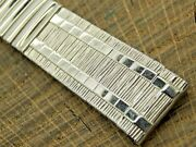 Vintage Nos Unused Jb Champion Watch Band Stainless Steel Expansion 17.5mm