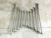 Ten Stainless Steel Boat Railing Standoffand039s 12andrdquo - 24andrdquo Sea Ray
