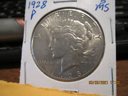 1928 P Peace Dollar Mint State +++++