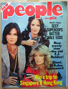 People With Pix Australian Magazine 1977 - Charlieandrsquos Angels Cover