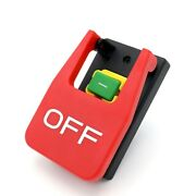 20xoff-on Red Cover Emergency Stop Push Button Switch 16a Power-off/undervoltag