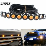 10pcs Amber Front Grille Marker Led Light Lamps For Ford F-150 F-250 Escape
