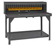 Durham - Dwb-3060-be-rsr-95 - Workbench 60wx30dx34 In. H