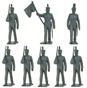 Marx Recast 60mm West Point Cadets - Warriors Of The World 90s Production