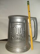 Rare Wilton Columbia Spalding Pewter 100 Years Of First In Sports Since 1876 Mug