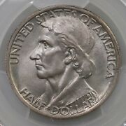 1935/34 Boone 50c Pcgs Cac Certified Ms67 Us Silver Half Dollar Commemorative