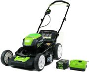 Pro 80v 21 Inch Cordless Push Lawn Mower Includes 4ah Battery And Charger 2501