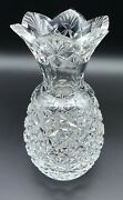 Waterford 8 Lead Crystal Pineapple Hospitality Collection Vase 109758