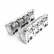 Procomp Sbc 220/64cc Complete Aluminum Heads With Studs And Guide Plates