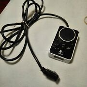 Logitech Z4 Remote Control Pod For Speakers Volume Bass Control