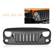 Front Eagle Eye Grill Steel Mesh Insert Fit 07-17 Jeep Wrangler Rubicon Sahara