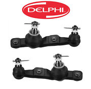 Delphi Pair Set 2 Front Lower Suspension Ball Joints For Lexus Gs350 Is350 Rwd