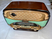 Oceanic Surcouf Art Deco French Radio Very Nice Physical And Working Condition