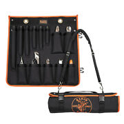 Klein Tools 33525sc Utility Insulated 13-piece Tool Kit With Roll-up Case