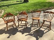 S. Bent Bros Set Of Four Colonial Chairs Pick Up In Springfield Il