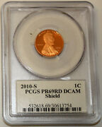 2010 S Lincoln Cent Pcgs Pr69rd Dcam Signed By Lyndall Bass