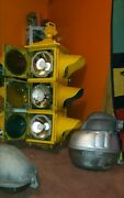 Vintage Rare Crouse Hinds Traffic Signal Light D/dt 4 Way