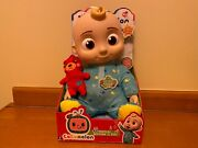 Brand New Cocomelon Jj Plush Musical Bedtime 10 Soft Doll Ships Today
