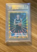 2019-20 Donruss Press Proof Gold Laser 4/10 Tyler Herro Rated Rookie Rc Bgs 9.5