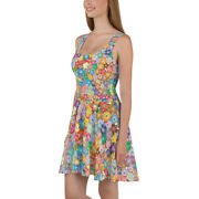 Beautiful Floral Flower Summer Spring Dress Colorful Flowers