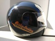 Harley Davidson Motor Cycles Helmet Size L60 Acf Snell M95 Dot. Made In Italy