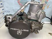 2015 Ktm 300 Xc Two Stroke Off Road Motor W/ Rekluse Clutch Cover Parts Only