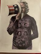 The Tattooed Man Billy Morrow Jackson Civil Rights Political Poster 1964