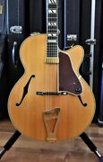 Used La Rocque Archtop 17inch Natural Electric Guitar Free Shipping
