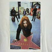 Vintage 1996 Garbage Tour Indie Grunge Rock Band Double Sided Xl T-shirt