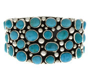 Natural Sleeping Beauty Turquoise Scattered Cluster Bracelet
