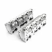 Procomp Sbc 190/64cc Complete Aluminum Heads With Studs And Guide Plates
