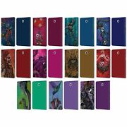 David Lozeau Colourful Grunge Leather Book Case For Samsung Galaxy Tablets