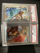 Psa 10 Suicune And Entei Legend Top And Bottom Heart Gold Soul Silver Unleashed